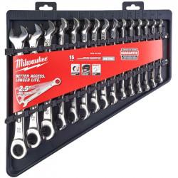 Набор метрических ключей Milwaukee (15 шт)