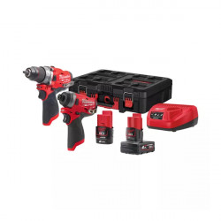 Набор инструментов Milwaukee M12 FUEL FPP2A-422P
