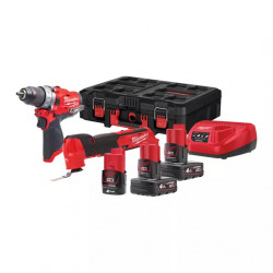 Набор инструментов Milwaukee M12 FUEL FPP2AX-423P
