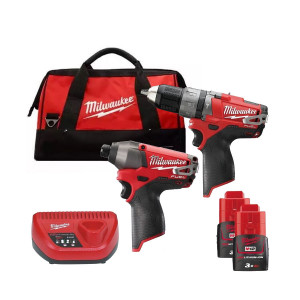 Набор инструментов Milwaukee M12 FUEL PP2A-302C