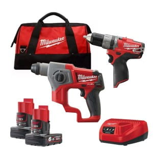 Набор инструментов Milwaukee M12 FUEL CPP2B-602C