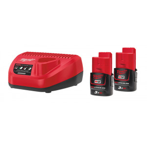 Энергокомплект Milwaukee M12 NRG-302 4933451902