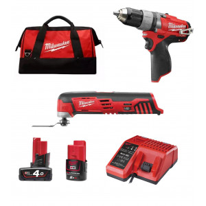 Набор инструментов Milwaukee M12 SET2A-421X