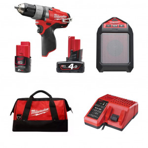 Набор инструментов Milwaukee M12 SET2J-421C