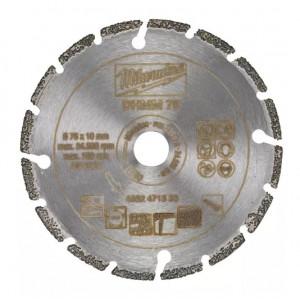 Алмазный диск Milwaukee DHMM 76мм для M12 FCOT (1шт)