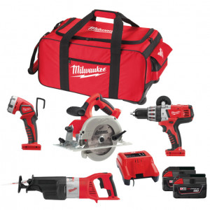 Набор инструментов Milwaukee HD28 Pack B-502В