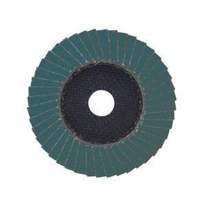 Лепестковый диск Milwaukee Zirconium 115 мм/ зерно 80