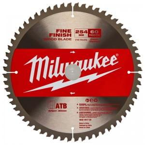 Диск для циркулярных пил по дереву Milwaukee Z 254 x 30 x 60 (1шт)