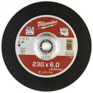Шлифовальный диск по металлу Milwaukee SG 27 / 230 x 6 x 22 мм (1шт)
