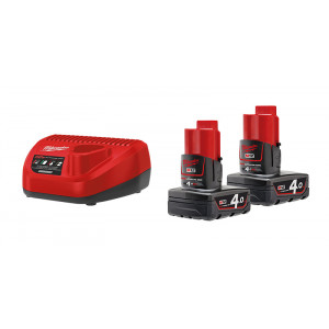Энергокомплект Milwaukee M12 NRG-402 4933459211