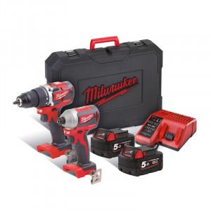 Набор инструментов Milwaukee M18 CBLPP2B-502C