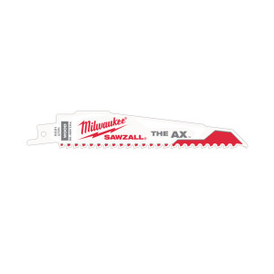 ПолотнодемонтажноеMilwaukee Heavy Duty AX 150 x 5 мм/ шаг зуба 5 мм (5шт)