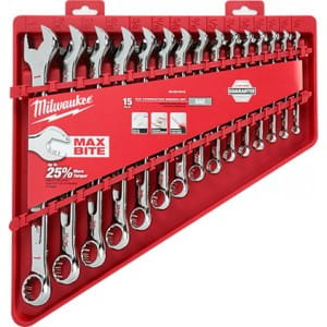 Набор дюймовых ключей Milwaukee (15 шт)
