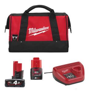 Энергокомплект Milwaukee M12 EK-422B 4932451239