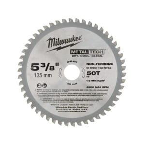 Диск для циркулярных пил по металлуMilwaukee F 135 x 20 x 50 мм (1шт)