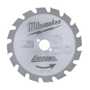 Диск для циркулярных пил по дереву Milwaukee WCSB 210 x 30 x 16 (1шт)