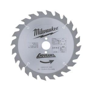 Диск для циркулярных пил по дереву Milwaukee WCSB 165 x 20 x 24 (1шт)