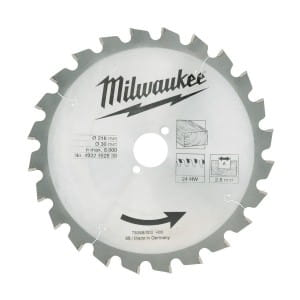 Диск для торцовочной пилы Milwaukee WCSB 216 x 30 x 24 (1шт)