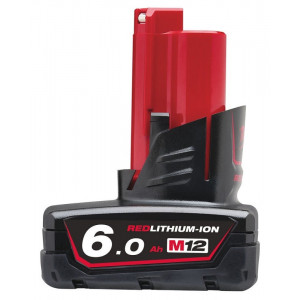 Аккумулятор Milwaukee M12 B6 6.0 Ач