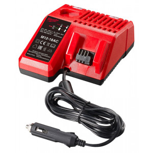 Автомобильное зарядное устройство Milwaukee M12-18 AC