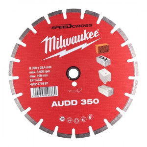 Алмазный диск Milwaukee AUDD 350мм