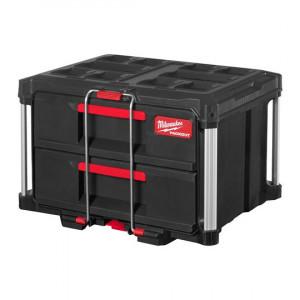 Ящик с 2-мя выдвижными отсеками Milwaukee PACKOUT DRAWER BOX