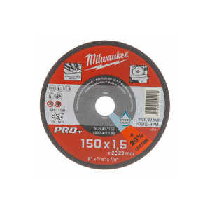 Отрезной диск Milwaukee Pro+ SCS 41 / 150 x 1.5 x 22.2 мм (1шт)