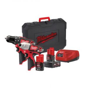 Набор инструментов Milwaukee M12 BPP2B-421C