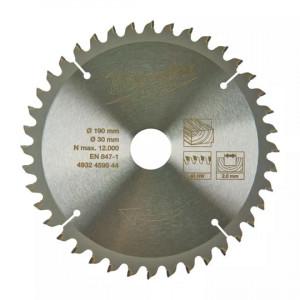 Диск для торцовочной пилы Milwaukee WCSB 190 x 30 x 40 мм (1шт)