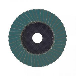 Лепестковый диск Milwaukee Zirconium 125 мм/ зерно 80