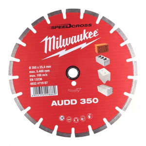 Алмазный диск Milwaukee CIS AUDD 350 мм (1шт)