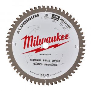 Диск для циркулярных пил по металлу Milwaukee CSB P Alu 203x5/8x2.4x58 (1шт)