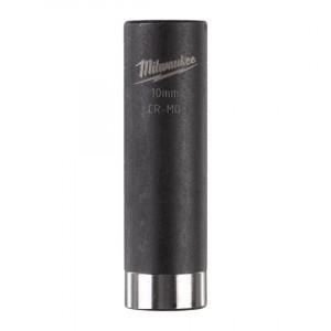 Головка Milwaukee ShW 1/4 10 мм удлиненная ударная (1шт)