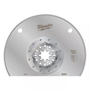 Полотно биметаллическое по мультиматериалам Milwaukee StarLock 100 мм (1шт)
