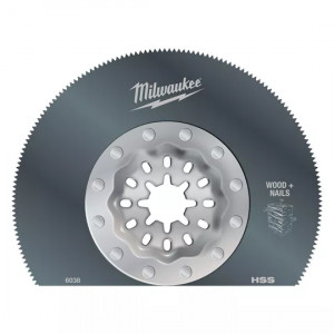 Полотно по мультиматериалам Milwaukee StarLock 85 мм (1шт)