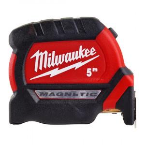 Рулетка метрическая магнитная Milwaukee Premium 5 м/ 27 мм (1шт) 48227305 (4932459373)