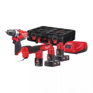 Набор инструментов Milwaukee M12 FUEL FPP2AX-423P