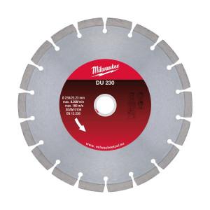Алмазный диск Milwaukee DU 230 мм (1шт)