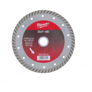 Алмазный диск Milwaukee DUT 180 мм (1шт)
