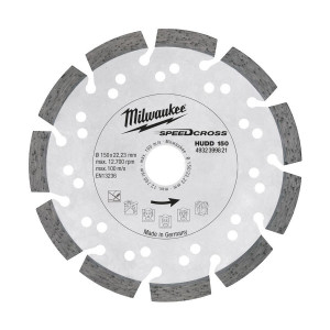 Алмазный диск Milwaukee HUDD 150 мм (1шт)
