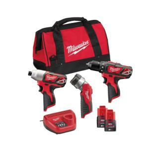 Набор инструментов Milwaukee M12 BPP3A-202B