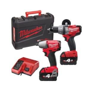 Набор инструментов Milwaukee M18 FUEL PP2B-402C