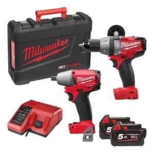 Набор инструментов Milwaukee M18 FUEL PP2B-502C