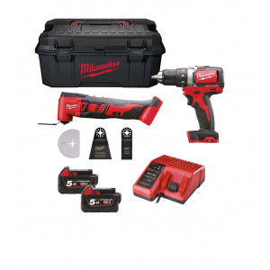 Набор инструментов Milwaukee M18 SET2T-502W