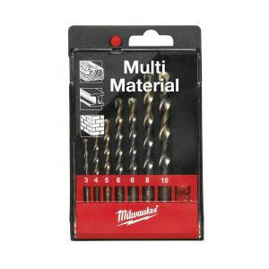 Набор сверл Milwaukee Multimaterial Set 1 (7шт)