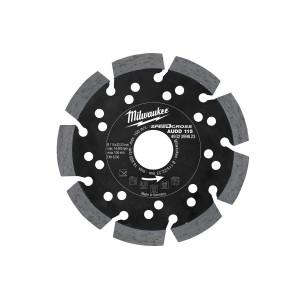 Алмазный диск Milwaukee AUDD 115 мм (1шт)