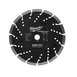 Алмазный диск Milwaukee AUDD 230 мм (1шт)