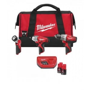 Набор инструментов PowerPack Milwaukee С12 PP3В-22B