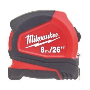 """Рулетка Milwaukee Pro 8м/26"""" x 25 мм"""