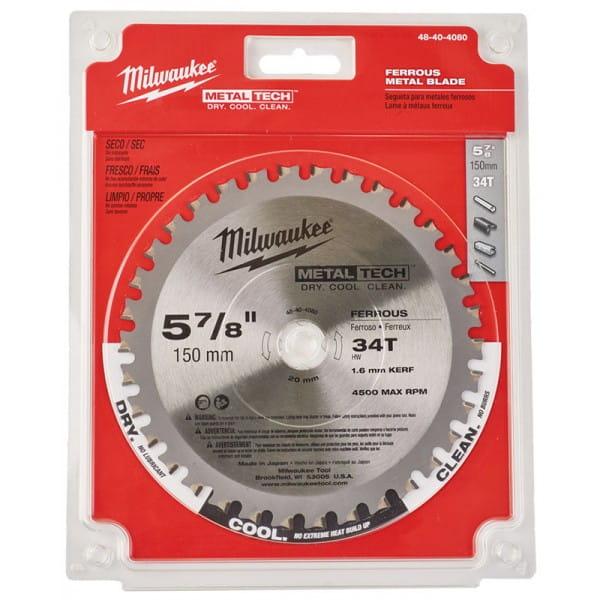 Диск для циркулярных пил по металлу Milwaukee F 150 x 20 x 34 мм (1шт)